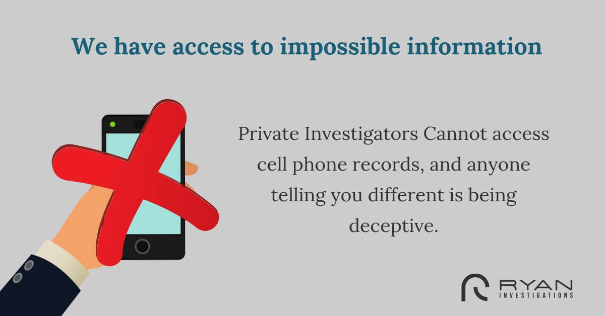 We have access to impossible information