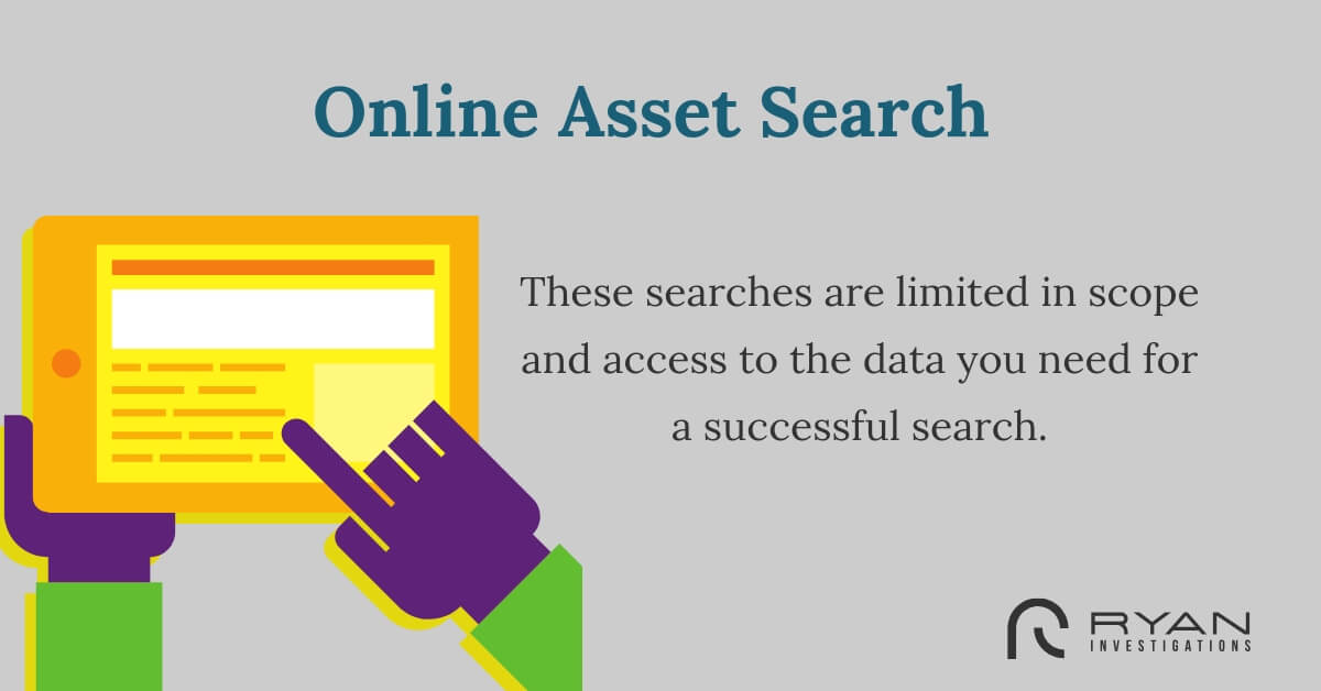 online asset search