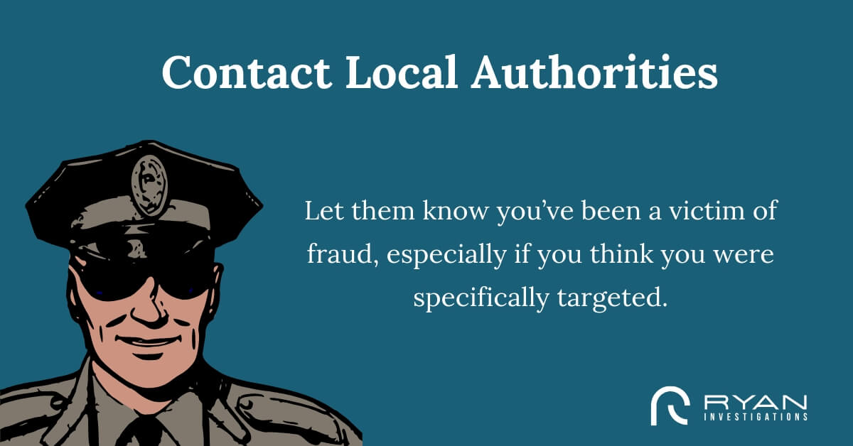 Contact Local Authorities