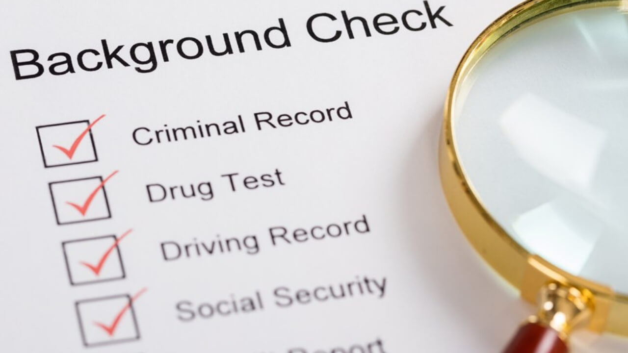 What is a background check
