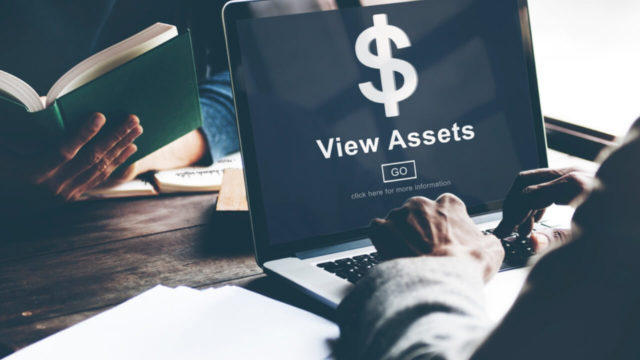 What is an asset search