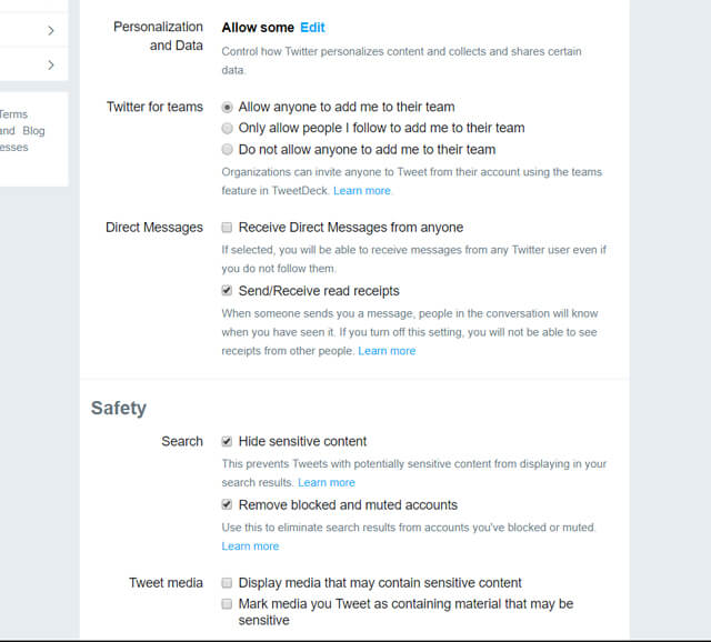 protect your twitter accounts