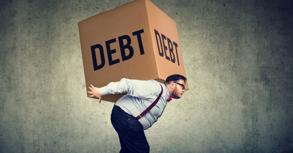 Don't take new debt