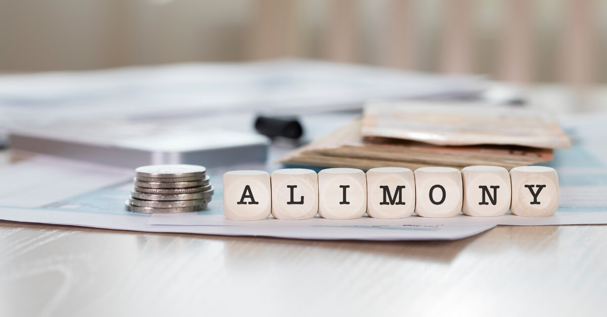 Come to an agreement regarding alimony