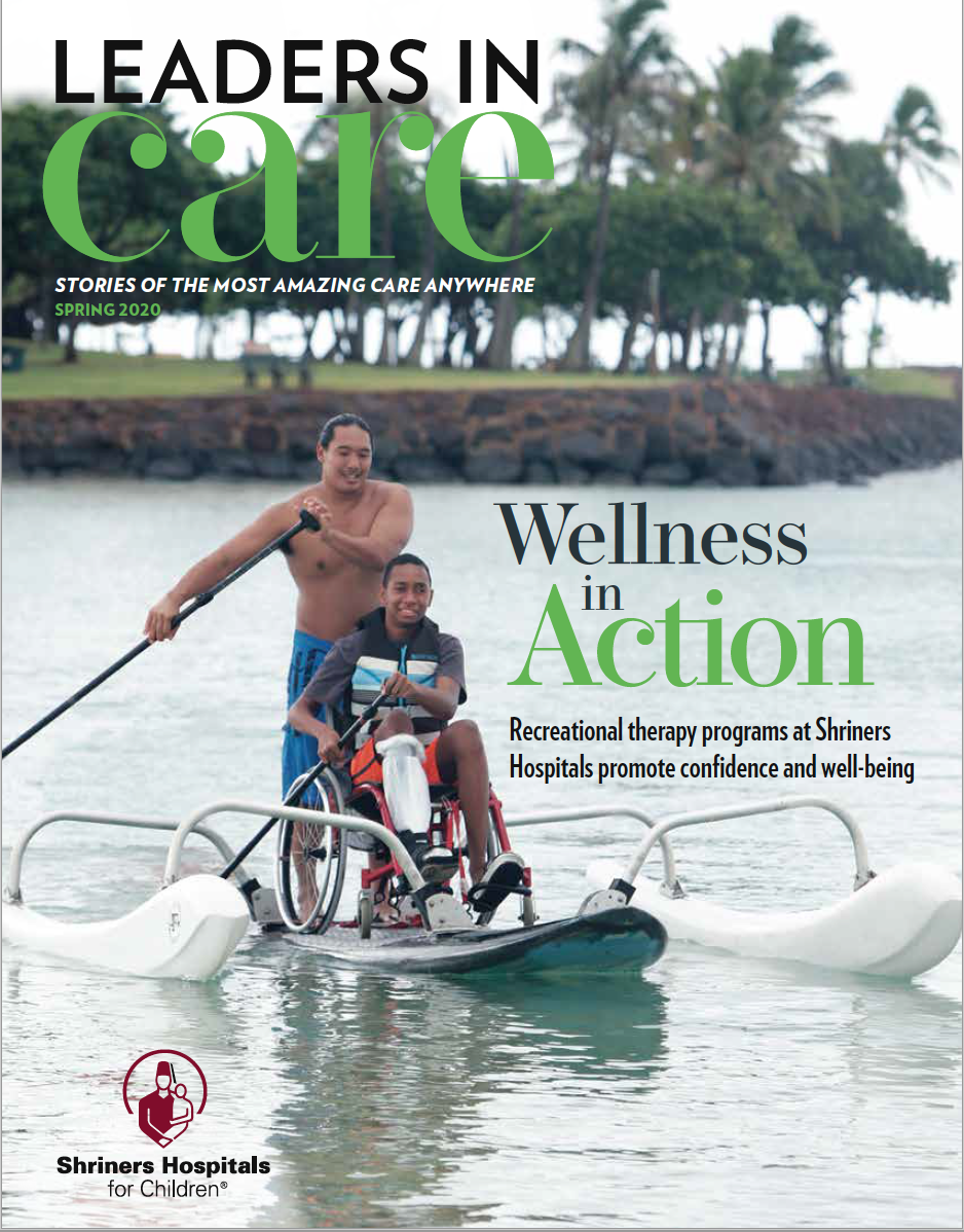 Spring 2020 Leaders in Care Magazine for download