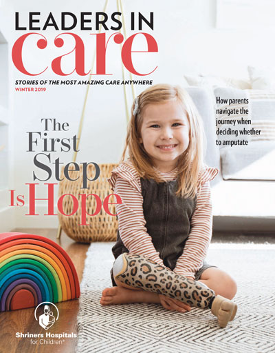 Winter 2020 Leaders in Care Magazine for download