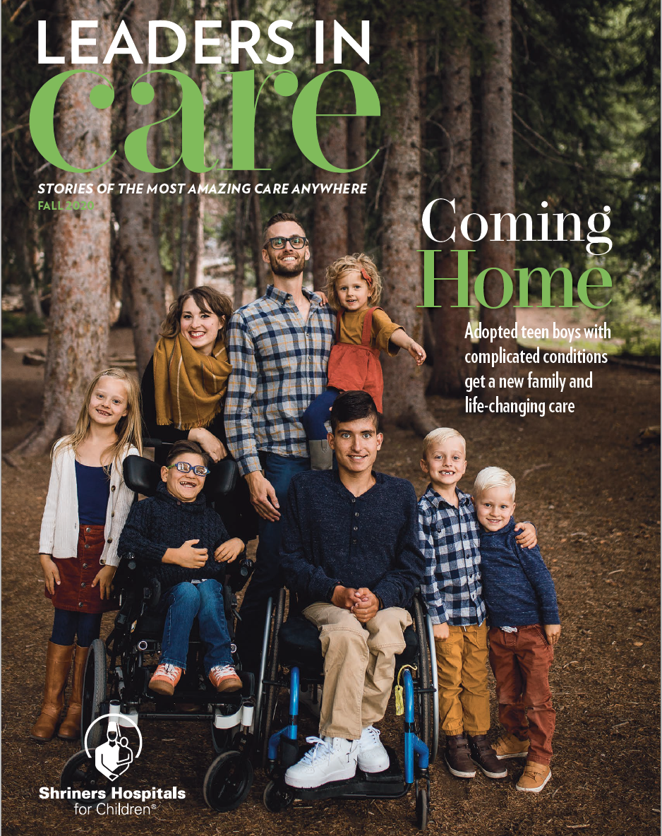 Fall 2020 Leaders in Care Magazine for download