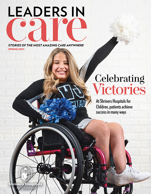 Spring 2021 Leaders in Care Magazine for download