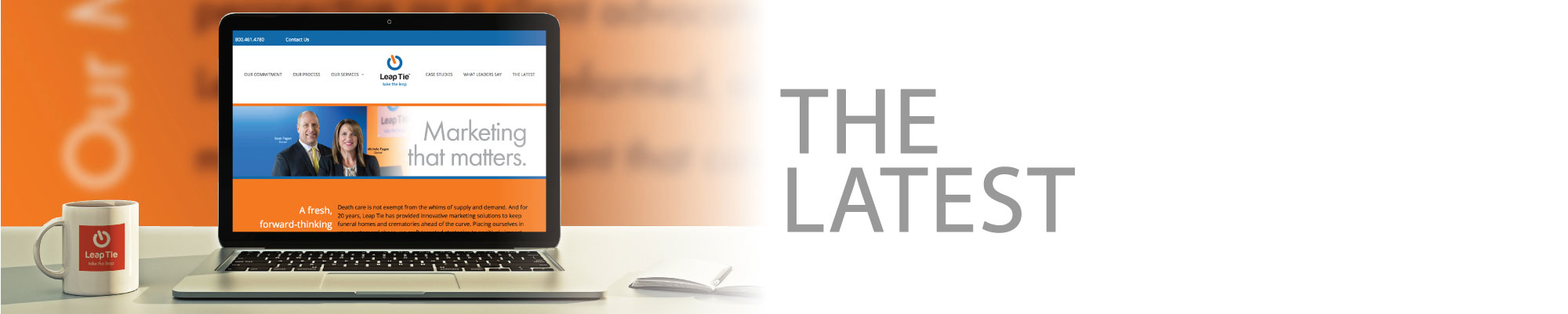 The Latest - Leap Tie, Inc