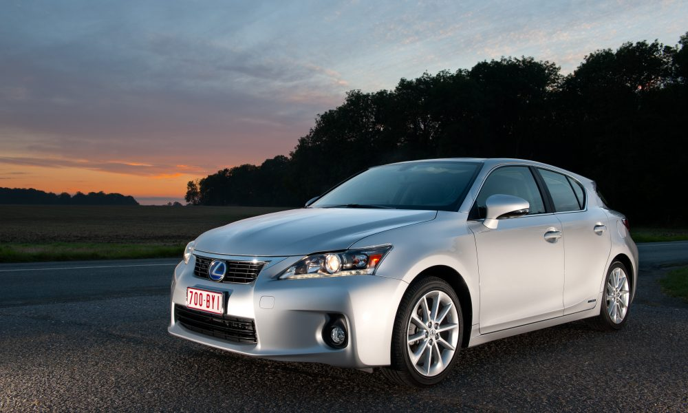 All-New Lexus 2011 CT 200h Receives Top Safety Pick Rating for Crash Tests