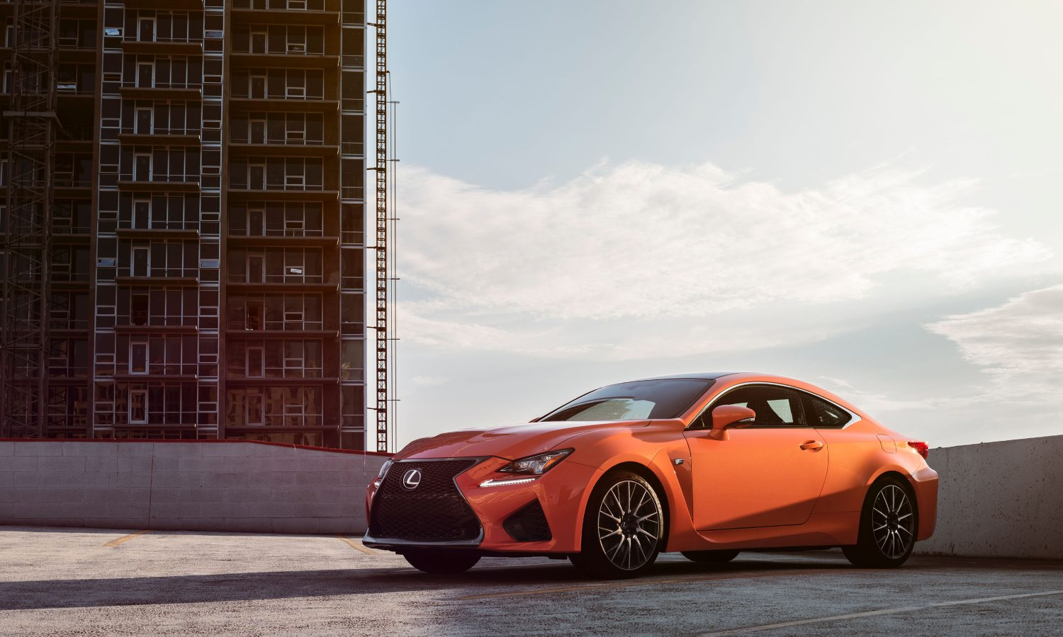 The F Strikes Again: Lexus Unleashes the 2015 RC F, A 467 hp Firestorm on Forged Alloy Wheels