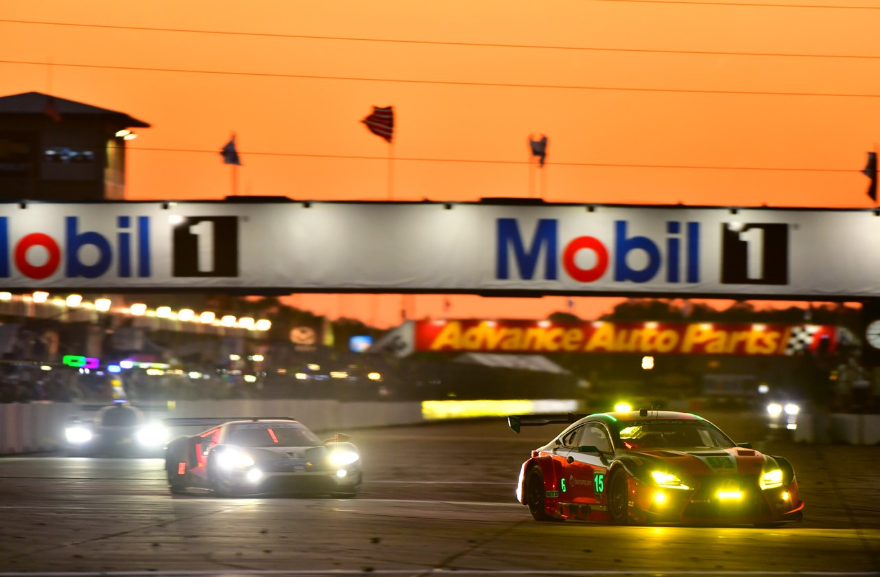 RC F GT3s Lead Laps, No. 15 Lexus Finishes Fifth at Sebring