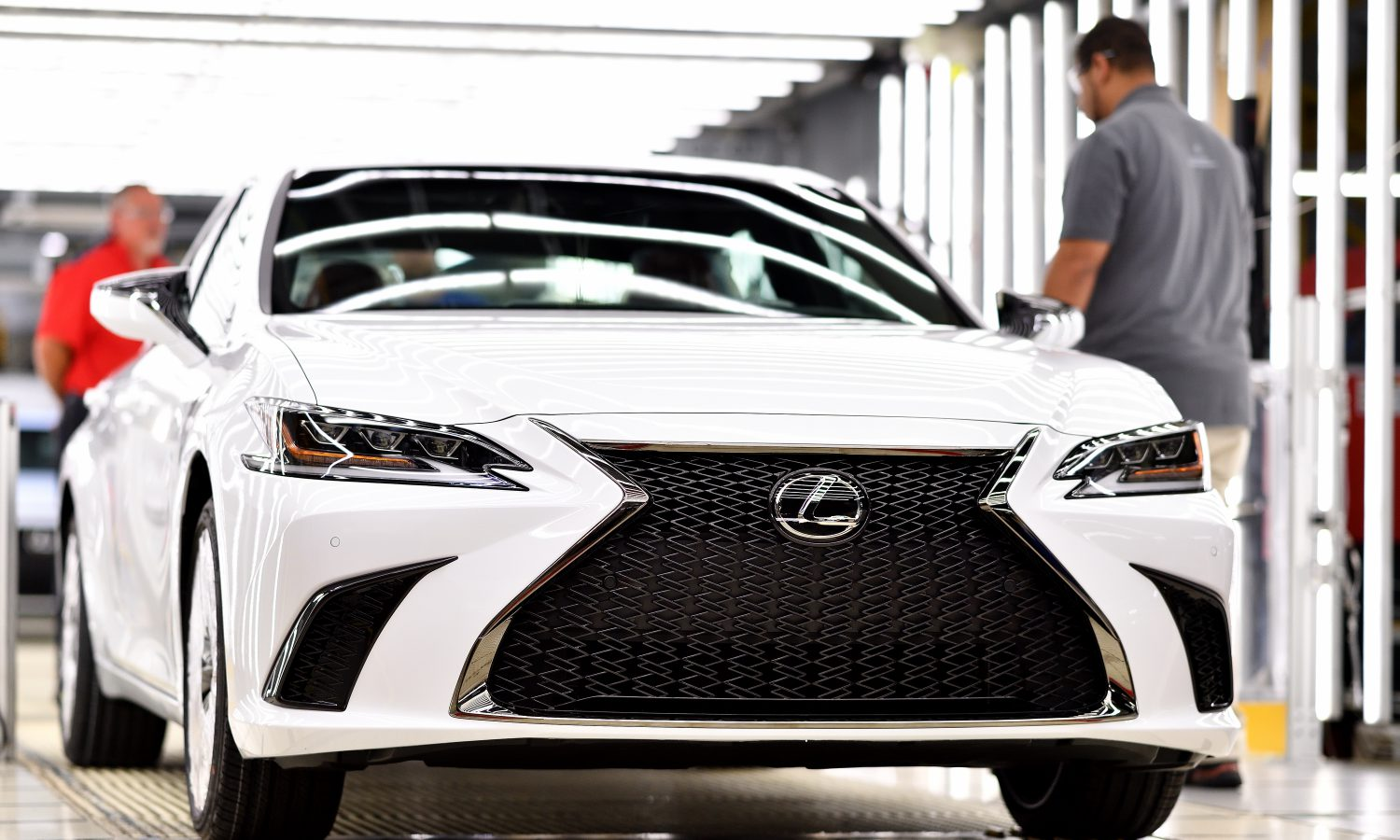 All-new 2019 Kentucky-assembled Lexus rolls off the line