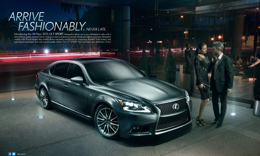 2013 Lexus LS Marketing Campaign Ad 001