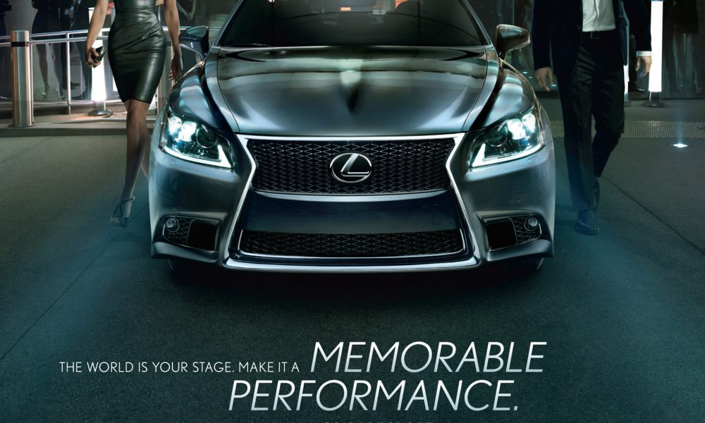 Lexus LS Marketing Campaign Ad 002