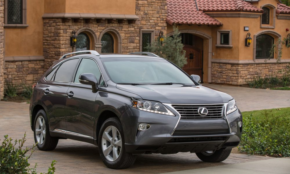 Lexus RX Honored With U.S. News & World Report '2014 Best Cars for Families' Awards  Backseat Squabbling May be a Thing of the Past