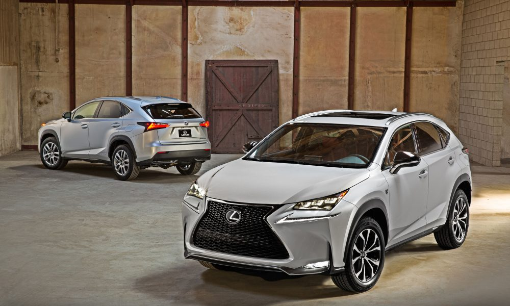 All-New Lexus NX Compact Crossover Launches With Marque's First Turbo Powertrain