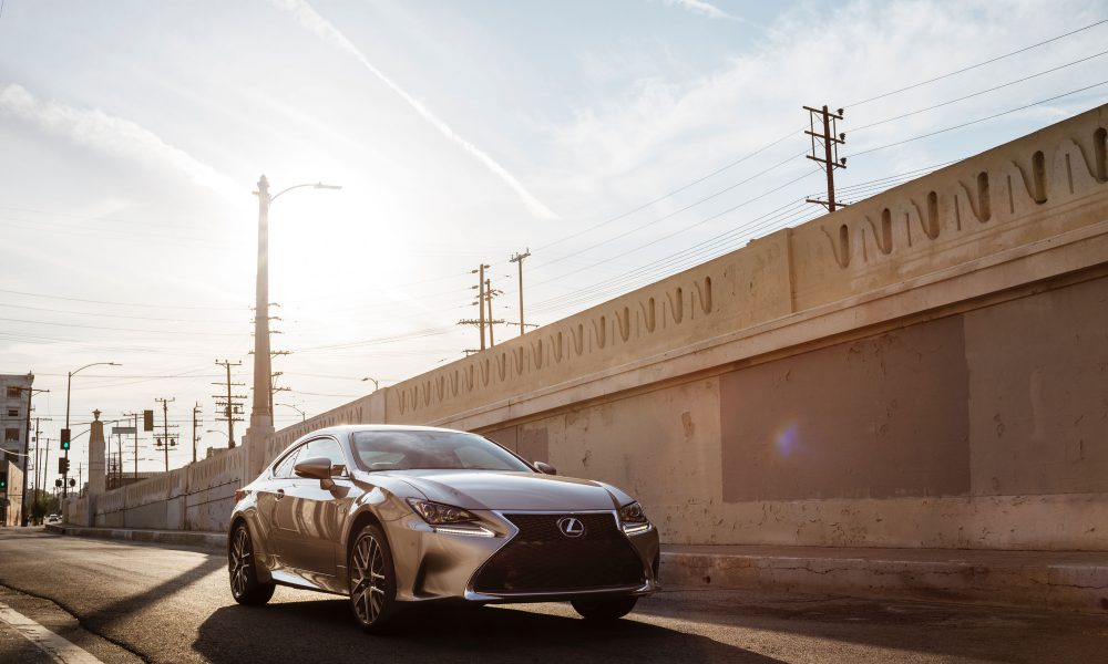 It's a Trifecta! – F SPORT Completes All-New Lexus RC Coupe Line-up