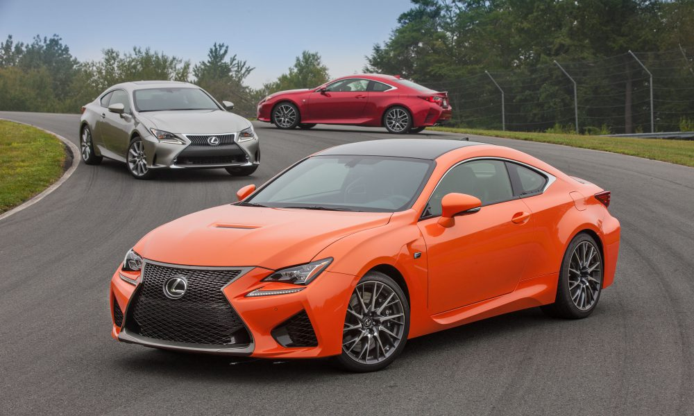Lexus to Overpower Los Angeles with All-New RC and NX