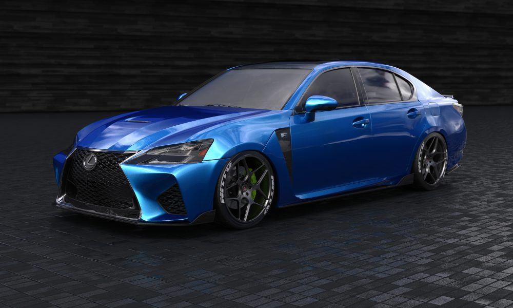 2016 Specialty Equipment Market Association (SEMA) Show – Lexus GS F by Clark Ishihara 01