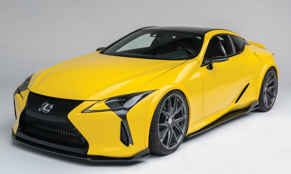 2016 Specialty Equipment Market Association (SEMA) Show – Lexus LC 500 by Gordon Ting/Beyond Marketing 01
