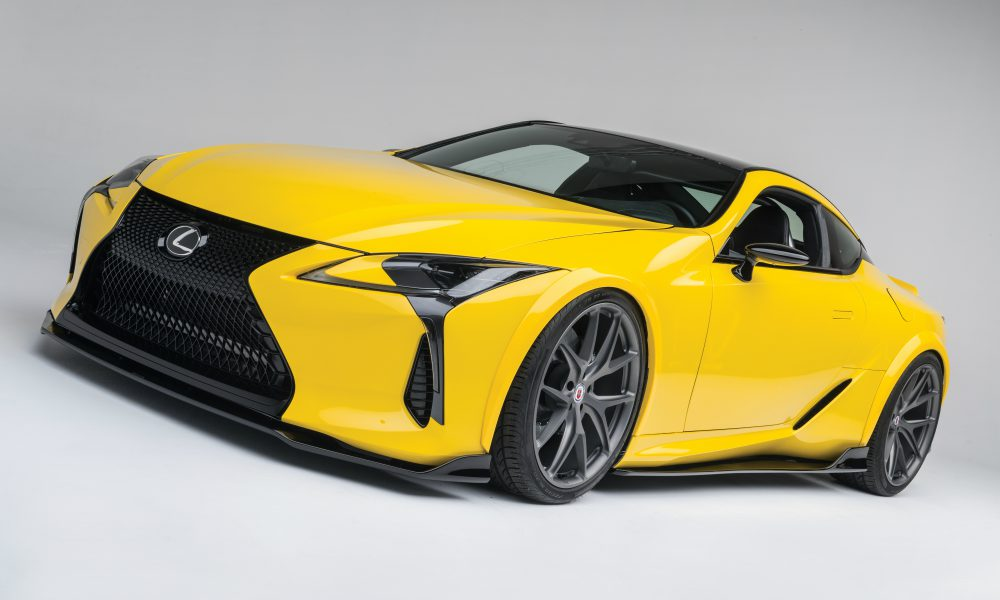 2016 Specialty Equipment Market Association (SEMA) Show – Lexus LC 500 by Gordon Ting/Beyond Marketing 04