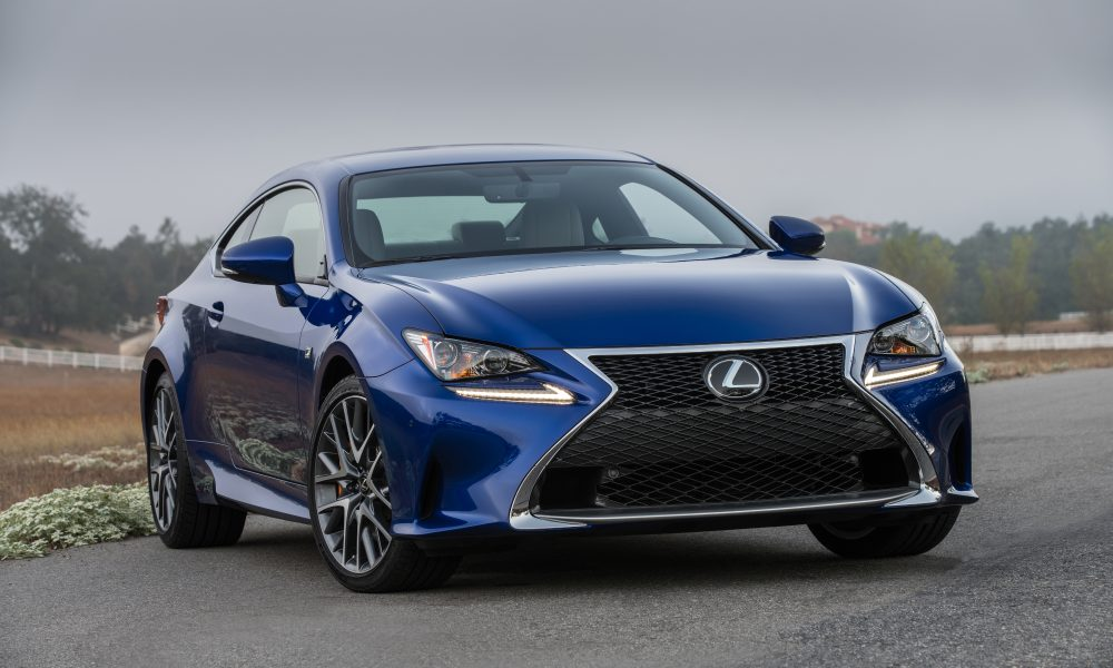 Lexus RC Coupe Enhanced for 2016 With Trio of Engine Choices – New Turbocharged Engine and V6 AWD