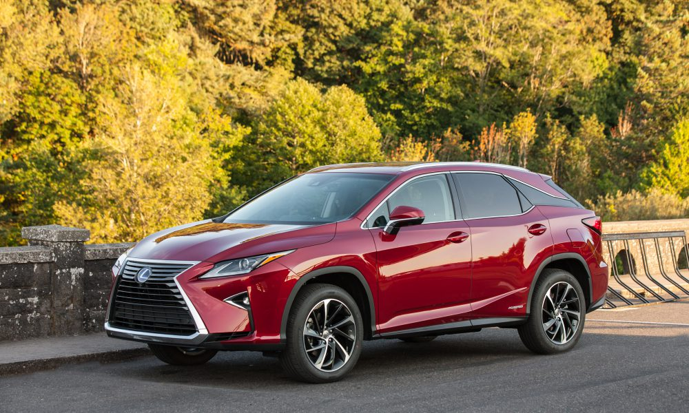 2017 Lexus RX 450h Product Information