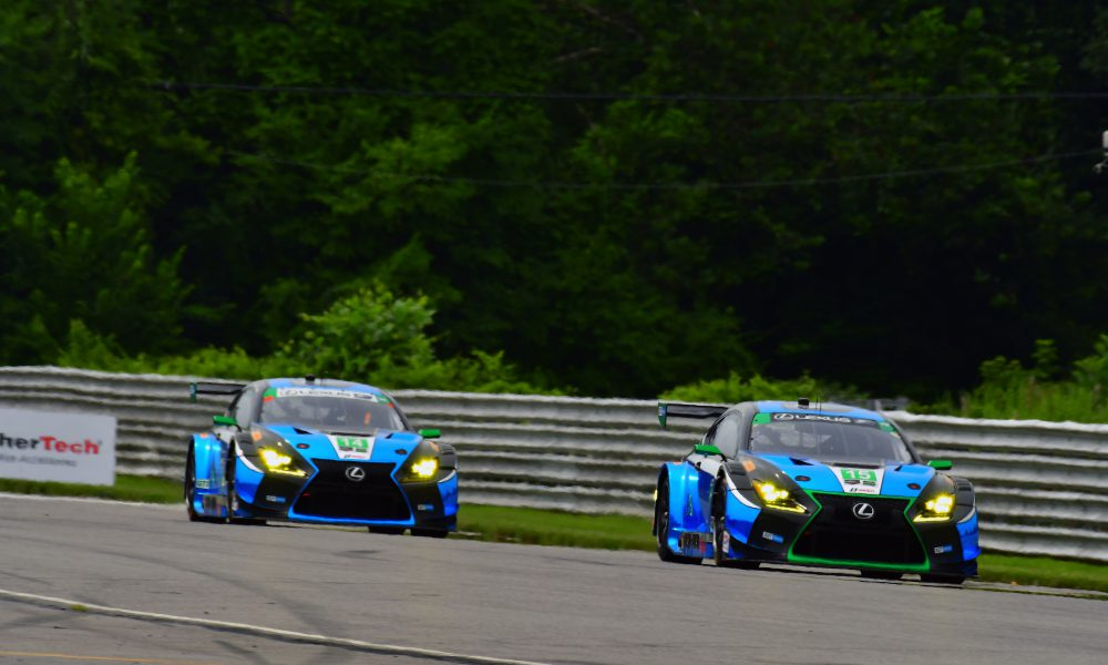 Lexus RC F GT3s to Race at Road America