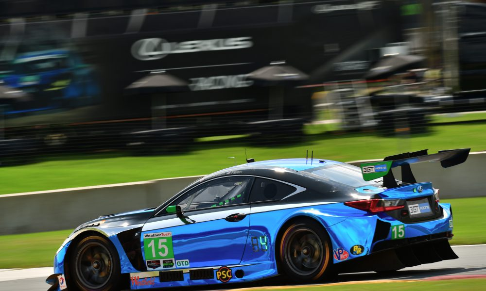 RC F GT3s Record Top-10s at Road America