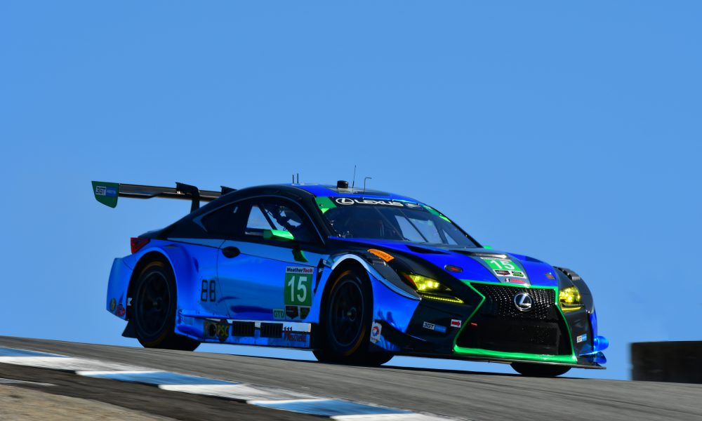 Lexus RC F GT3s To Compete at Season-Finale Petit Le Mans