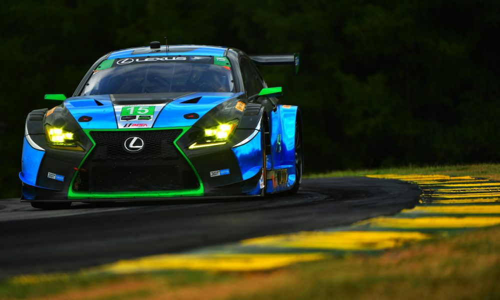 RC F GT3 Records Top-10 in Virginia