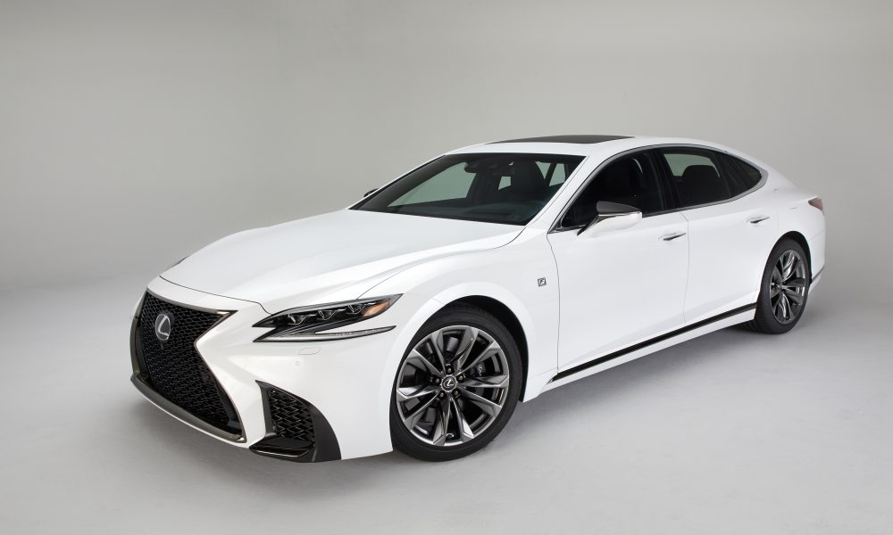2018 Lexus LS 500 F SPORT Debuts in New York