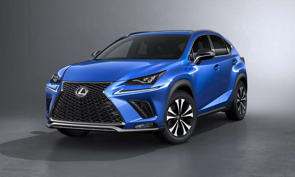 Refreshed 2018 Lexus NX Bows in Shanghai with a Sharper Look, Enhanced Performance