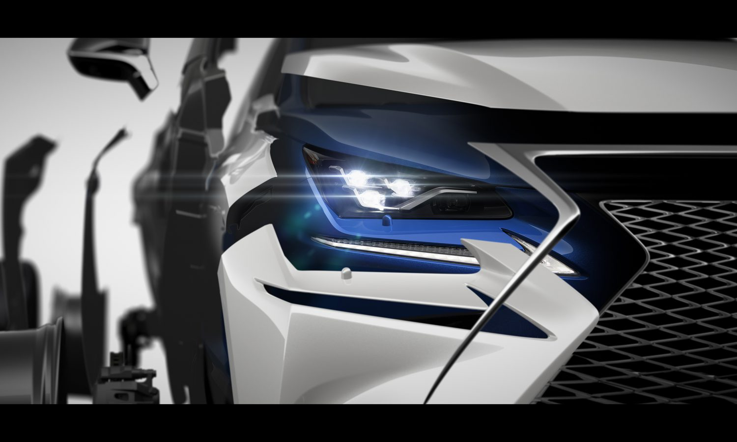 Refreshed Lexus NX to Make Its World Premiere at Auto Shanghai 2017