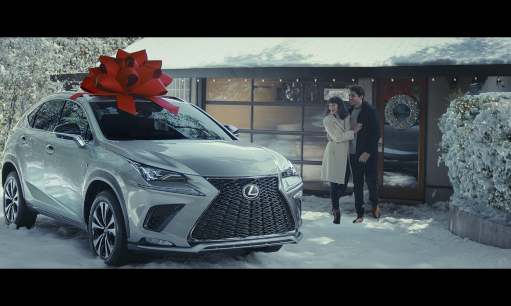 "Lexus' ""December to Remember"" Campaign Proves the Magic of the Classic Red Bow  Makes Memories Year Round"