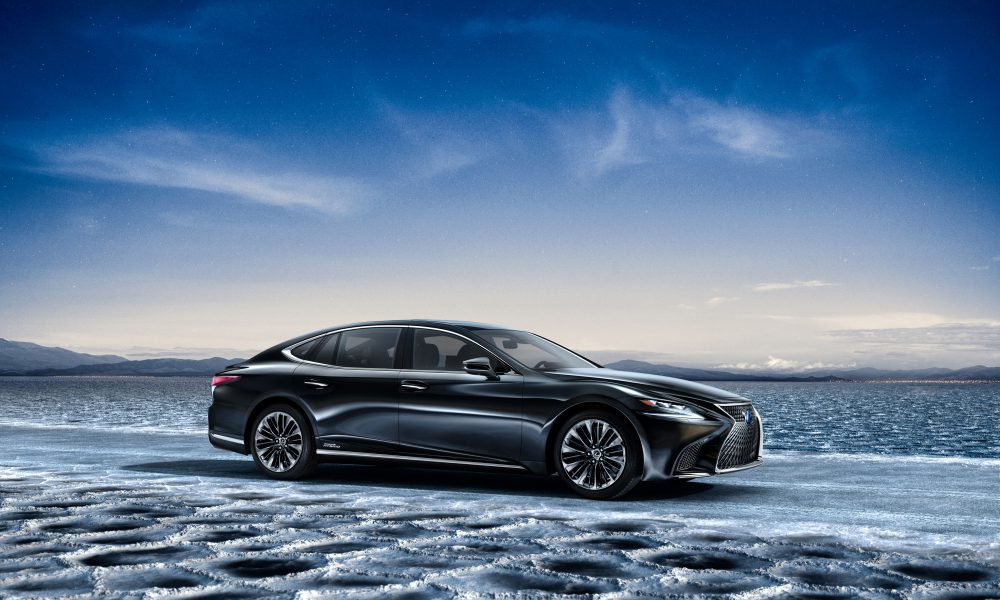 All-New Lexus LS 500h Makes Its World Premiere at the 2017 Geneva Motor Show