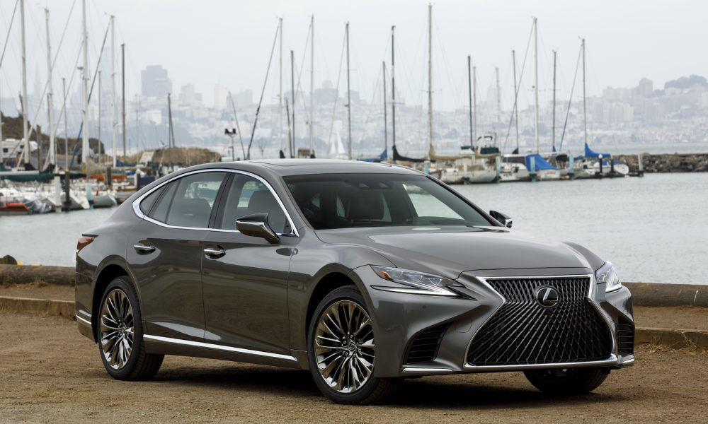 With The All-New 2018 LS, Lexus Reimagines Its Global Flagship Sedan
