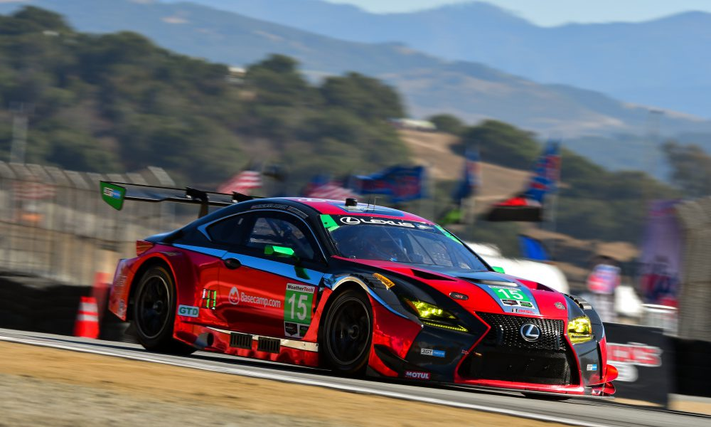 Lexus RC F GT3s Set to Compete in Petit Le Mans Season-Finale