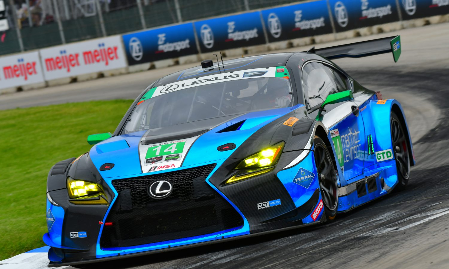 Lexus RC F GT3s Ready to Race in Six-Hour Endurance Event at Watkins Glen