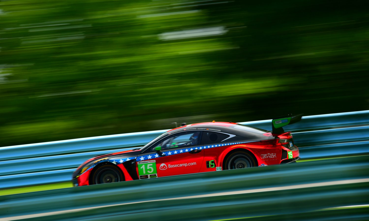 RC F GT3 Finishes Fourth at Watkins Glen