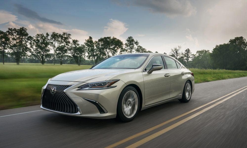 Pricing and EPA Mileage Figures Announced for All-New Seventh Generation Lexus ES Sedan