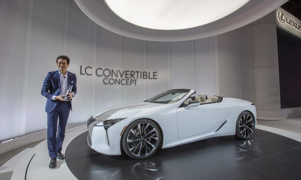 Lexus LC Convertible Concept Wins 2019 EyesOn Design Award