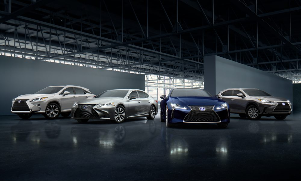 Celebrating 10 Million Vehicles Sold and a Best-Ever Year, the Lexus Brand Continues to Grow Globally
