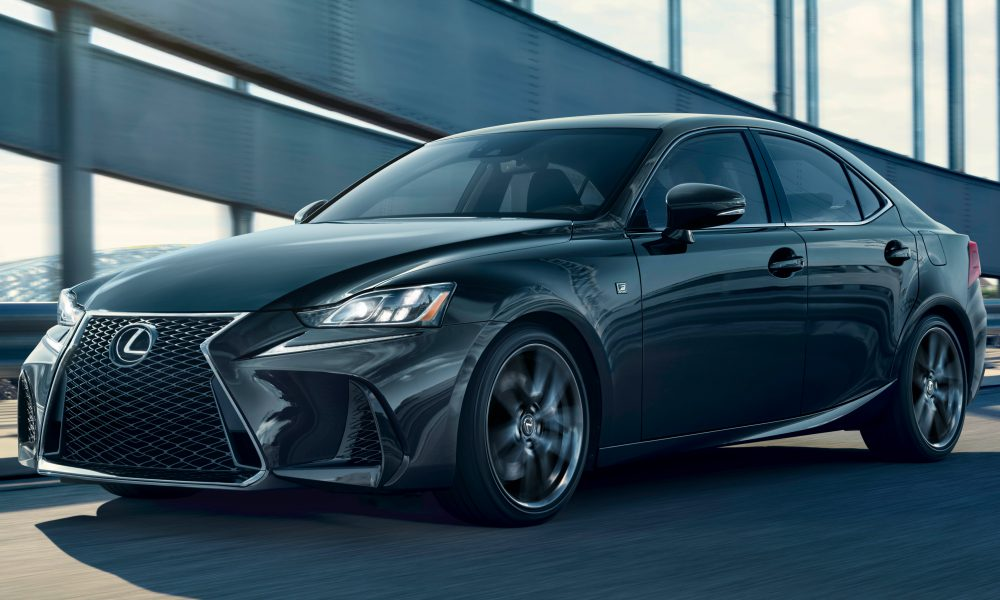 2019 Lexus IS300 BlackLine front 01