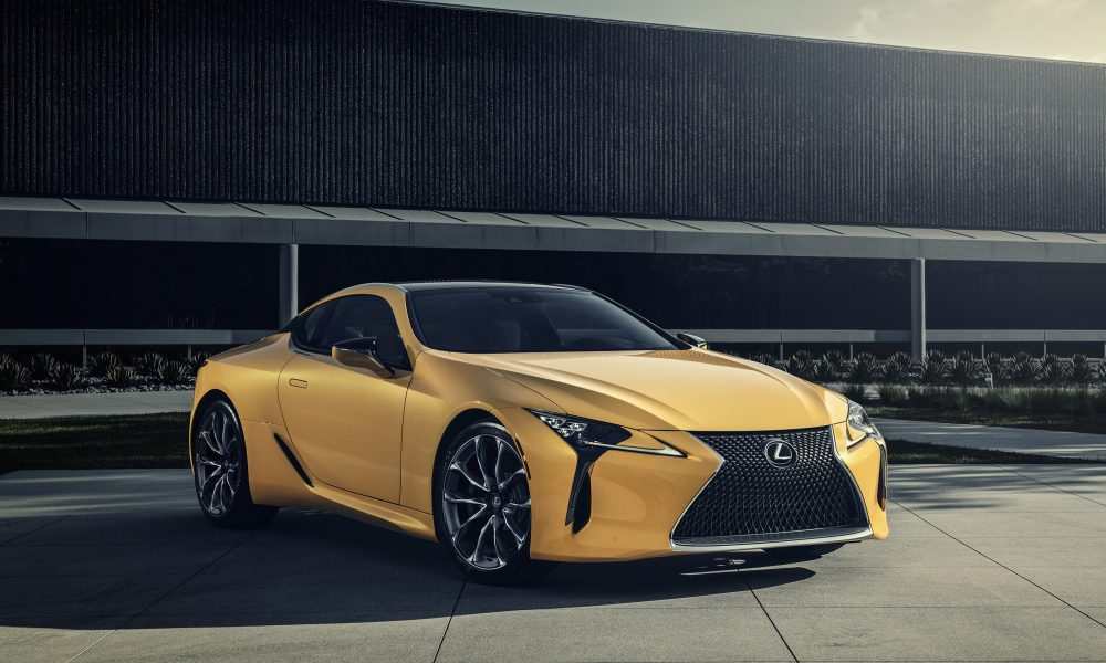2019 Lexus LC 500 Inspiration Series Debuts in Chicago