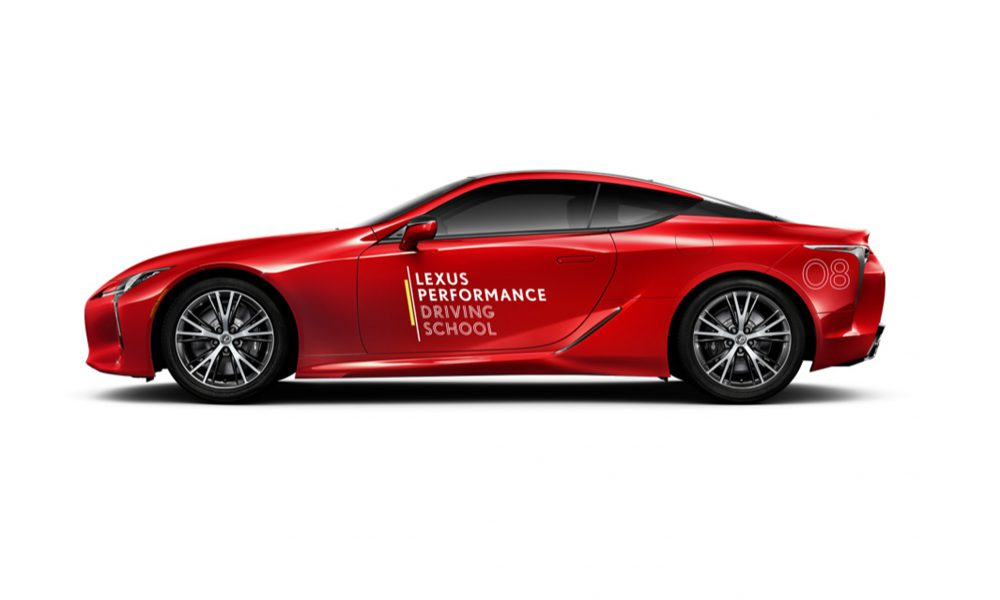 2019 Lexus Performance Driving School Dates Announced