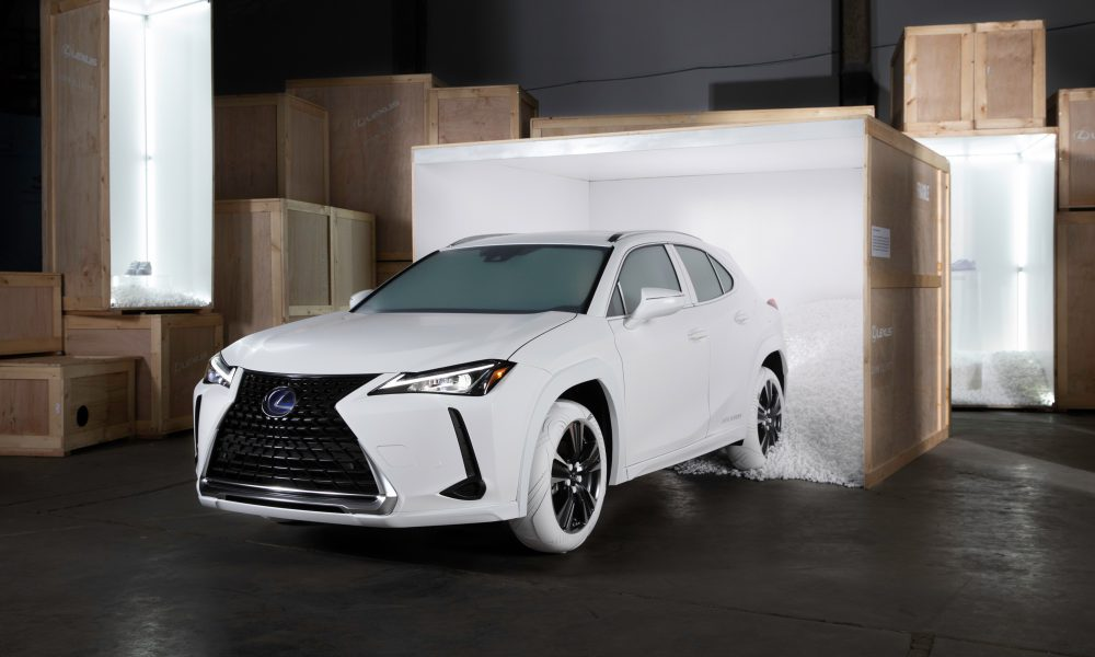 Lexus Partners with Streetwear Designer John Elliott to Create Bespoke Tires on First-Ever UX