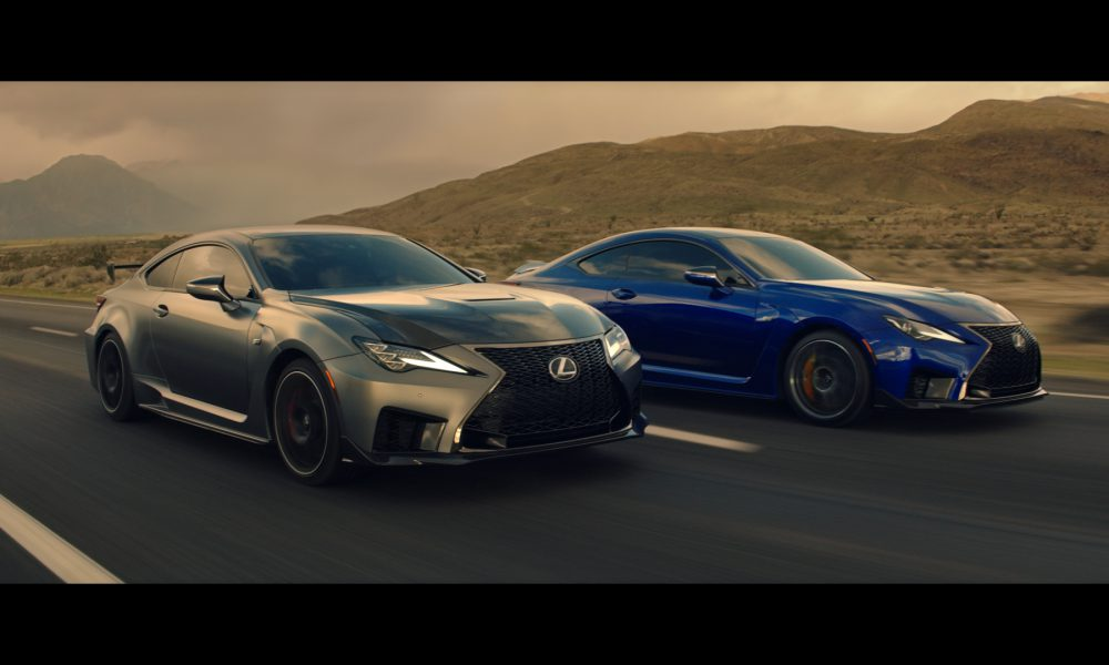 Lexus Showcases Performance Born from Refinement