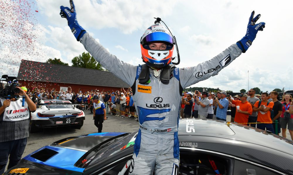 No 14 Lexus RC F GT3 Victorious at VIR